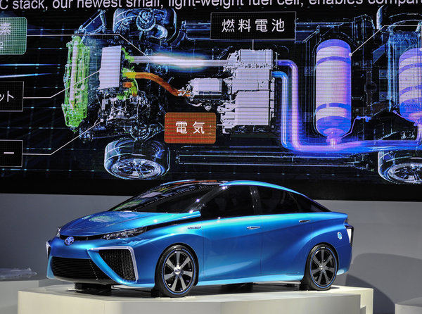 Toyota making hydrogen cars now