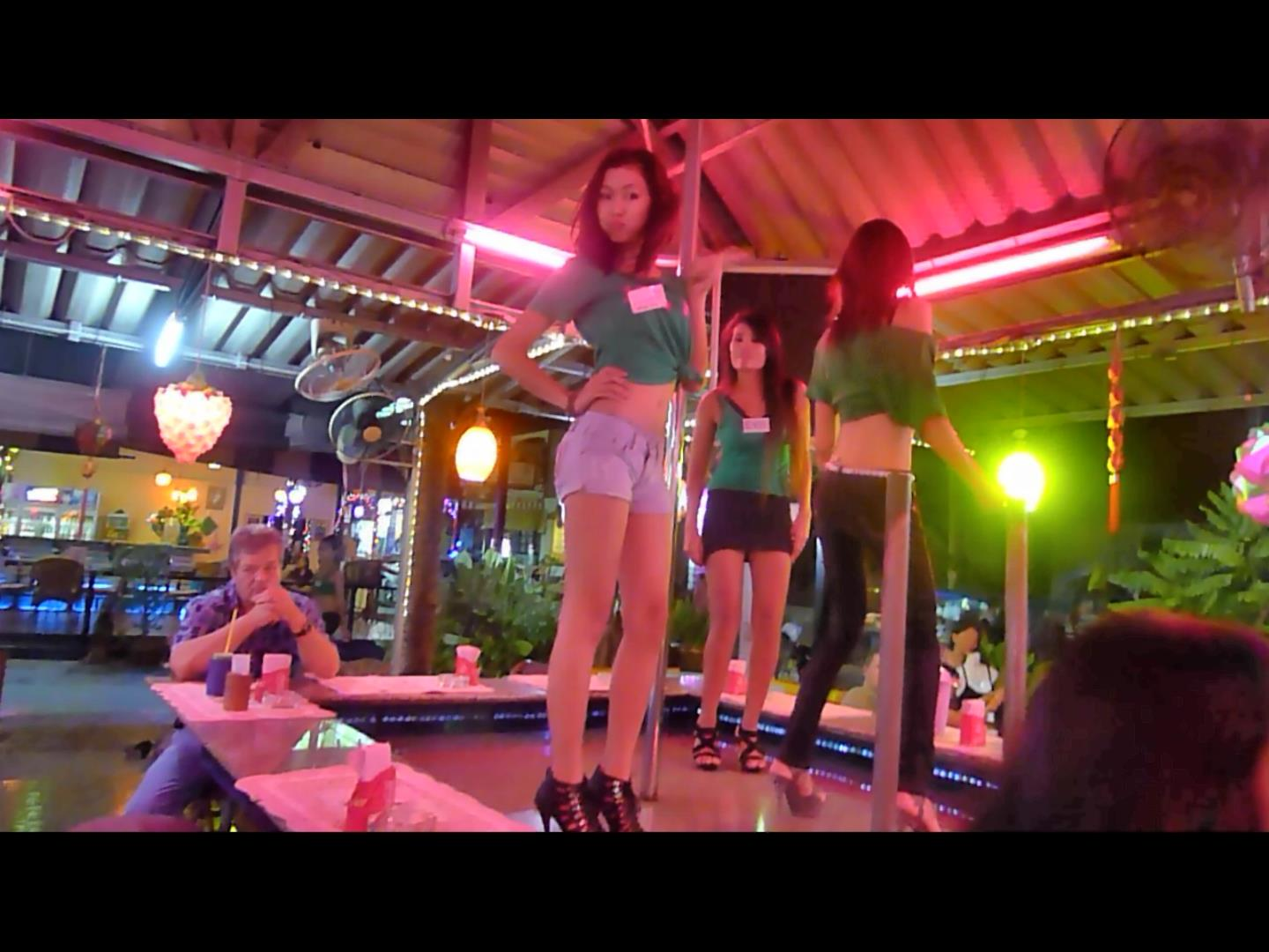 Thai girl lady boy