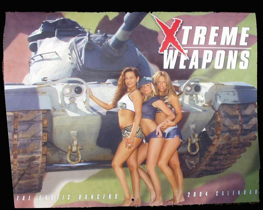 2004 Xtreme Weapons Calendar
