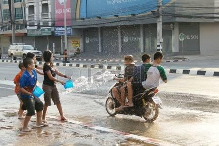 Songkran assault