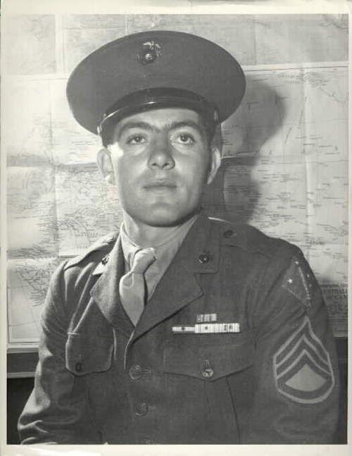 World War II hero John Basilone