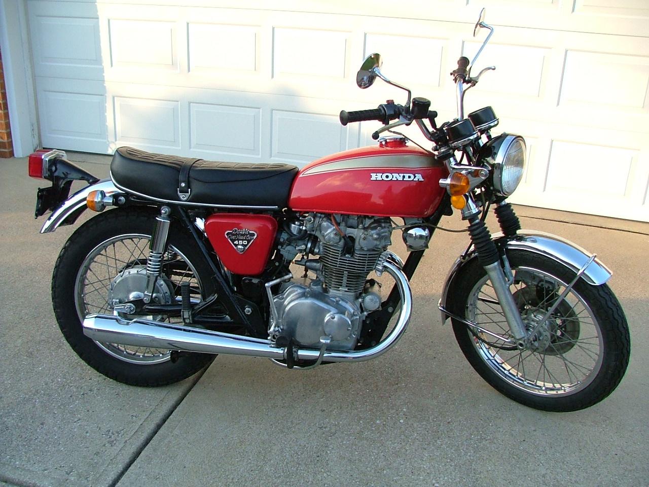 1972 Honda 450 CB
