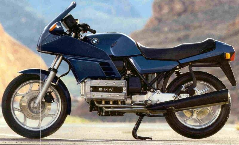 classic motorcycles my BMW K100 RS
