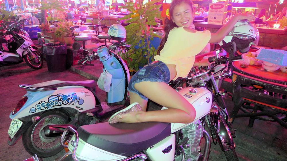 Kwann on Yamaha SR400