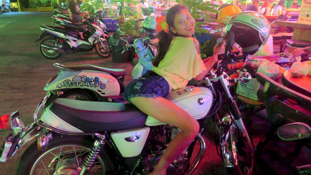 Kwann on my Yamaha SR400