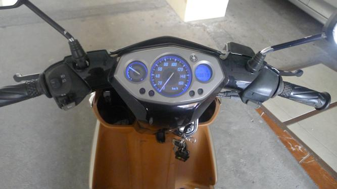 Dash of the 2008 Yamaha Nouvo Elegance