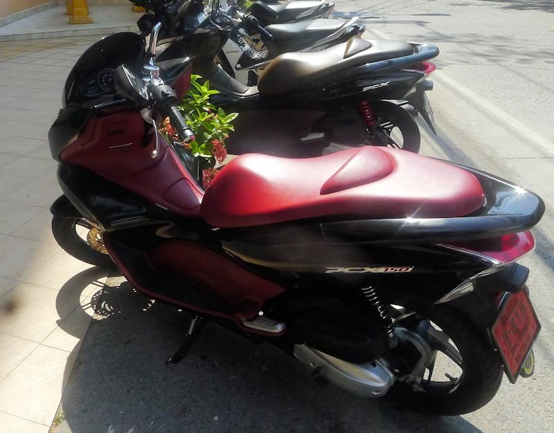 The Honda 150 PCX
