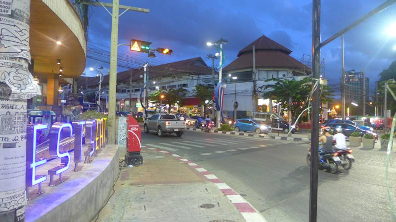 traffic light Pattaya