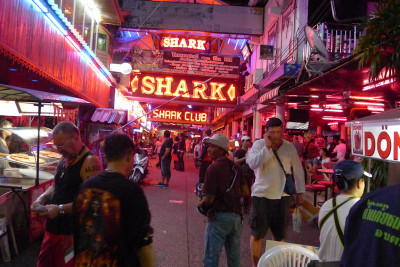 Go go Bars off Walking Street Soi Diamond
