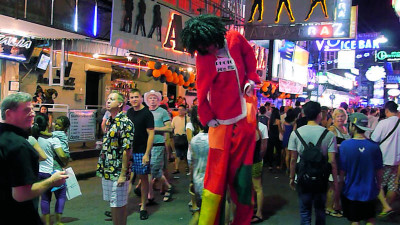 Walking Street Mamasans will be found in the go go bars dealing with customer bar girl relationships
