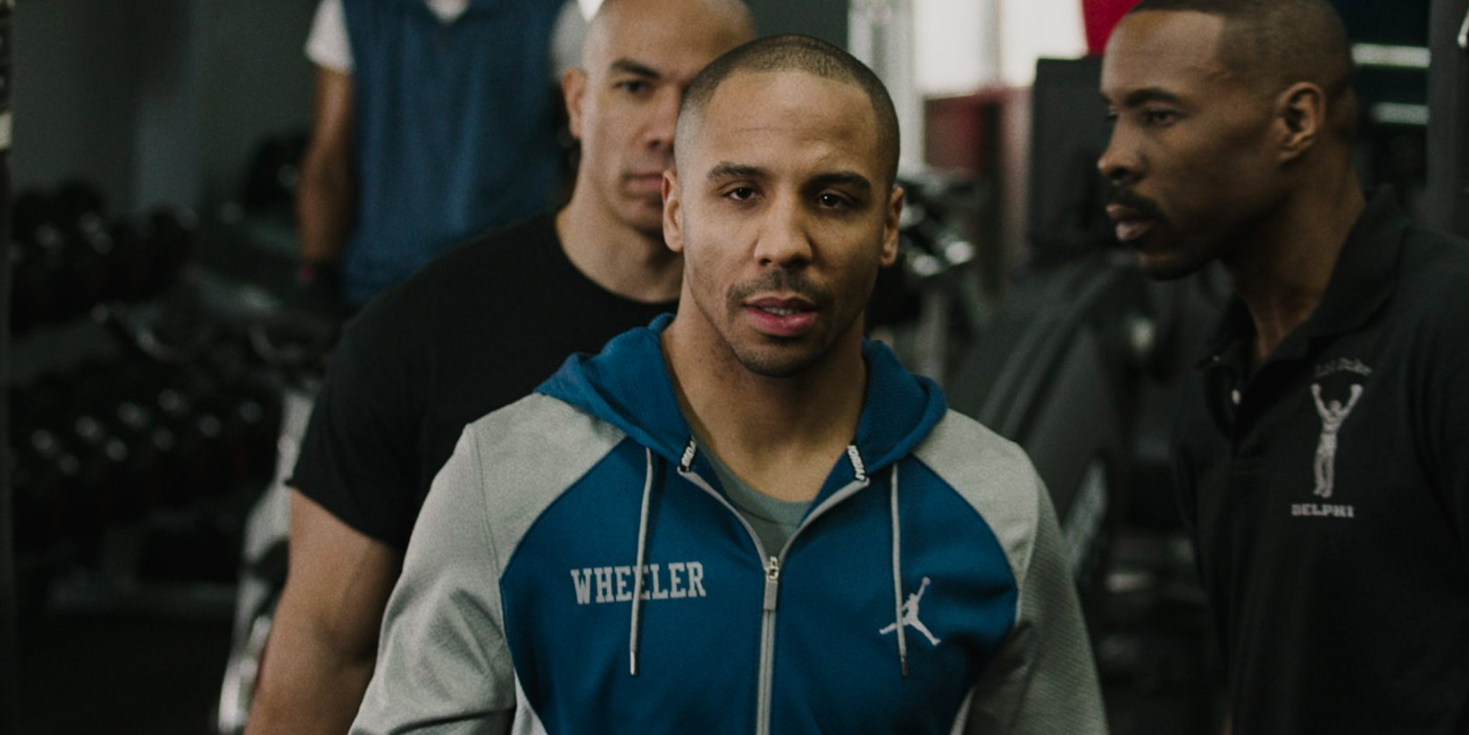 Andre Ward in the movie Creed