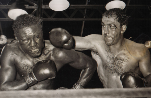 Rocky Marciano undefeated and Ezzard Charles