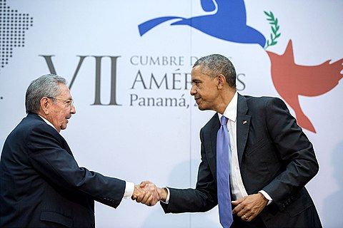 American Cuban rapprochement initiated by Raol Castro and Obama