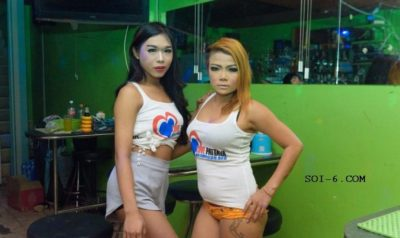 Bull Shit Pattaya bar girls make lady boys look good