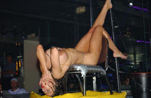 Cabaret club dancing girls sex voyeur - 1 7